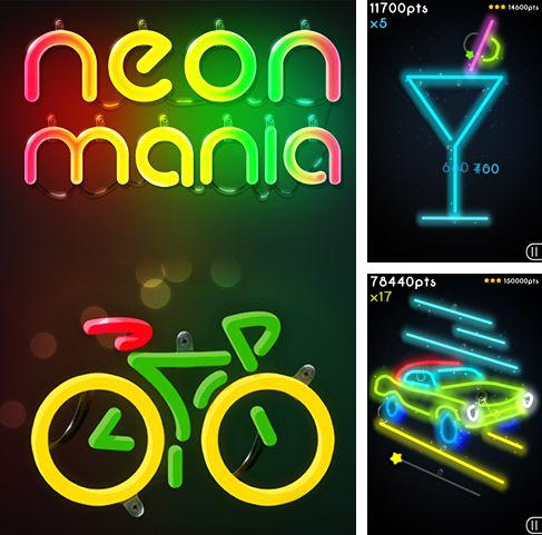 Download Neon mania iPhone free game.