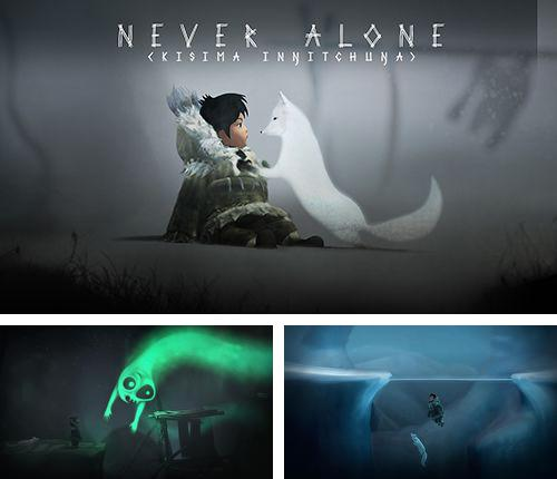 In addition to the game Dungeon ball for iPhone, iPad or iPod, you can also download Never alone for free.