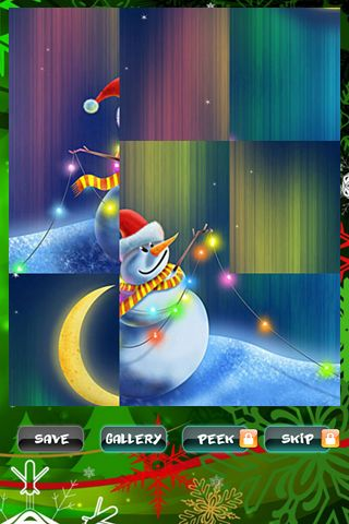 Screenshots do jogo New Year puzzles para iPhone, iPad ou iPod.