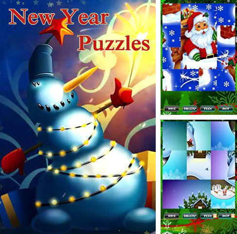 In addition to the game Tasty Tadpoles for iPhone, iPad or iPod, you can also download New Year puzzles for free.