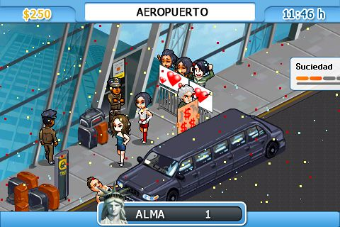 Screenshots vom Spiel New York nights: Success in the city für iPhone, iPad oder iPod.