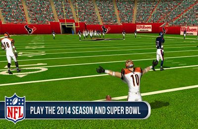 Kostenloser Download von NFL Pro 2014: The Ultimate Football Simulation für iPhone, iPad und iPod.