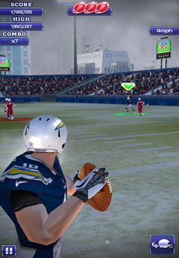 Download NFL Quarterback 13 iPhone free game.