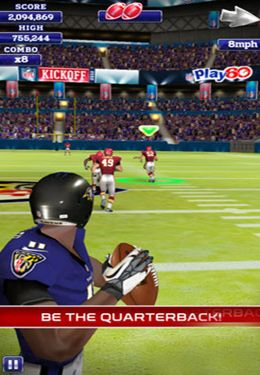 Screenshots of the NFL Quarterback 13 game for iPhone, iPad or iPod.