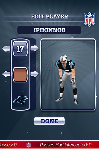 Descarga gratuita del juego NFL: Quarterback 15 para iPhone.