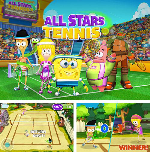 Kostenloses iPhone-Game Nickelodeon All Stars Tennis See herunterladen.