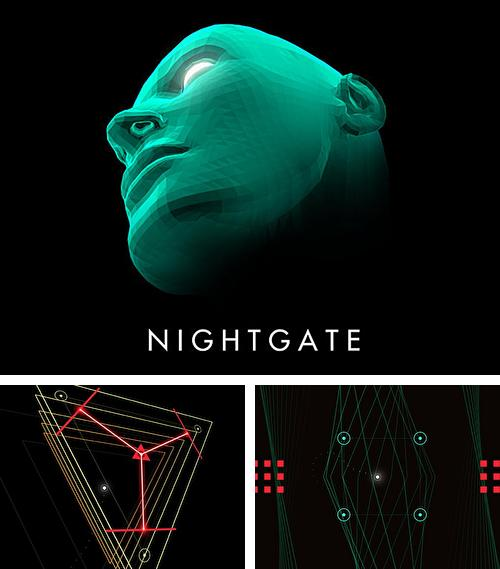In addition to the game Stick tennis: Tour for iPhone, iPad or iPod, you can also download Nightgate for free.