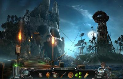 Screenshots vom Spiel Nightmares from the Deep: The Cursed Heart Collector's Edition für iPhone, iPad oder iPod.