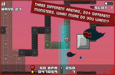 Screenshots of the Nightmerica game for iPhone, iPad or iPod.