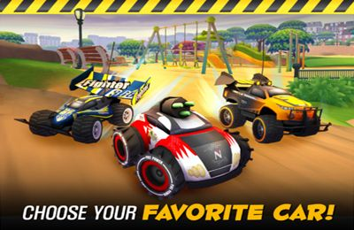 Screenshots of the Nikko RC Racer game for iPhone, iPad or iPod.