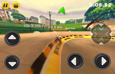 Capturas de pantalla del juego Nikko RC Racer para iPhone, iPad o iPod.