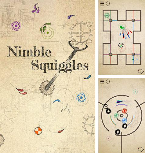 In addition to the game Space platform for iPhone, iPad or iPod, you can also download Nimble squiggles for free.