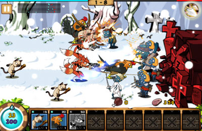 Download Nine Heroes iPhone free game.