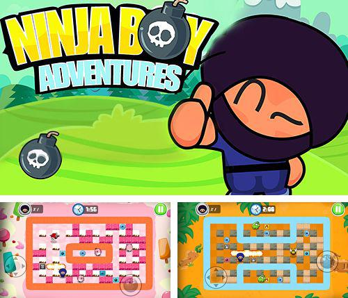 En plus du jeu Fuite du chien cosmique pour iPhone, iPad ou iPod, vous pouvez aussi télécharger gratuitement Aventures du garçon ninja: Version Bomberman, Ninja boy adventures: Bomberman edition.
