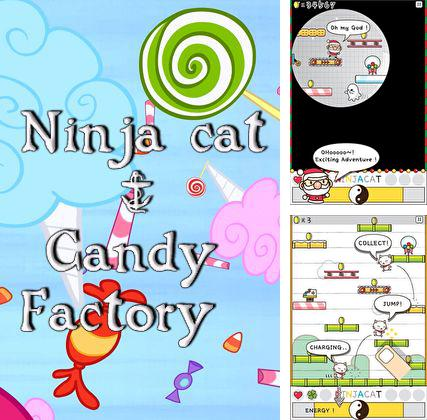In addition to the game Drift Legends for iPhone, iPad or iPod, you can also download Ninja cat & candy factory for free.