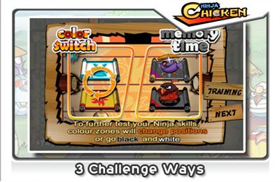 Descarga gratuita de Ninja Chicken para iPhone, iPad y iPod.