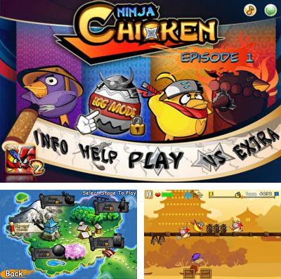 In addition to the game Flick Golf! for iPhone, iPad or iPod, you can also download Ninja Chicken 3: The Runner for free.