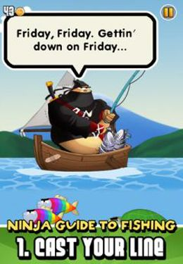 Download Ninja Fishing iPhone free game.