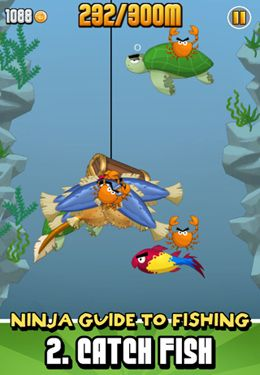 Descarga gratuita de Ninja Fishing para iPhone, iPad y iPod.