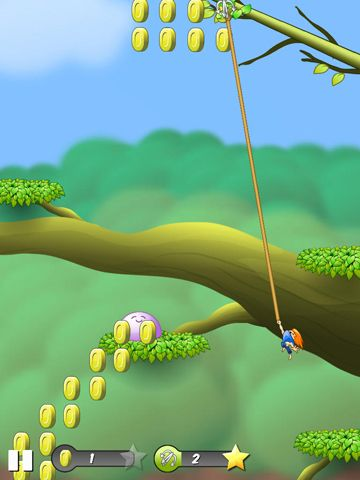 Screenshots of the Ninja Newton game for iPhone, iPad or iPod.