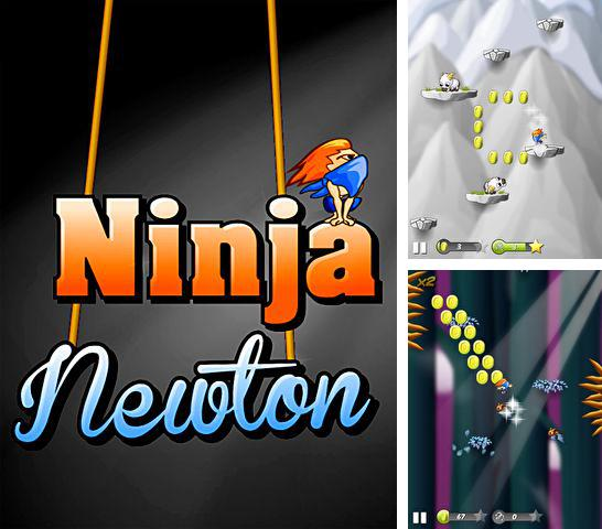 In addition to the game Diamond dash for iPhone, iPad or iPod, you can also download Ninja Newton for free.