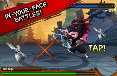 Capturas de pantalla del juego Ninja Royale: Ninja Action RPG para iPhone, iPad o iPod.