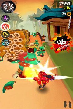 Descarga gratuita de Ninja Slash para iPhone, iPad y iPod.