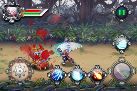 Download Ninja vs. zombies iPhone free game.