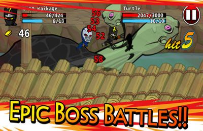 Free Ninjas - Stolen Scrolls download for iPhone, iPad and iPod.