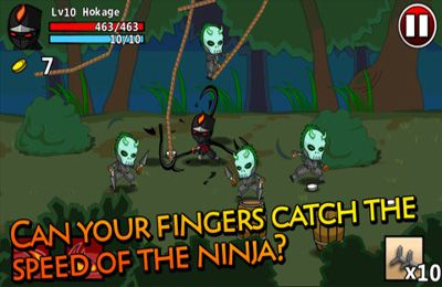 Screenshots of the Ninjas - Stolen Scrolls game for iPhone, iPad or iPod.
