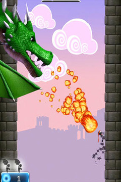 Screenshots of the NinJump Deluxe game for iPhone, iPad or iPod.
