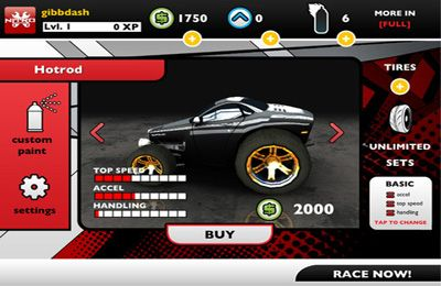 Download Nitro iPhone free game.