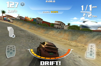 Screenshots of the Nitro game for iPhone, iPad or iPod.