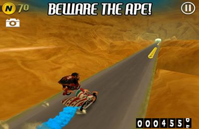 Download Nitro Chimp iPhone free game.