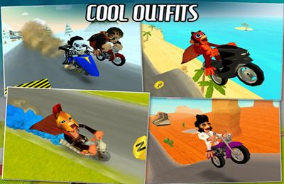 Screenshots of the Nitro Chimp game for iPhone, iPad or iPod.