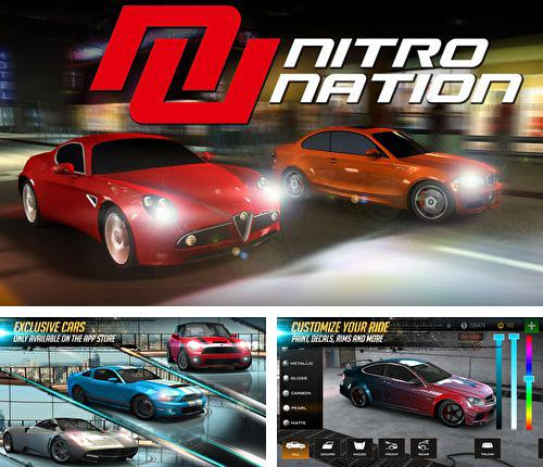 In addition to the game Infect them all: Vampires for iPhone, iPad or iPod, you can also download Nitro nation: Online for free.
