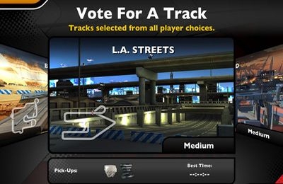 Screenshots vom Spiel Nitro Racing Highways für iPhone, iPad oder iPod.