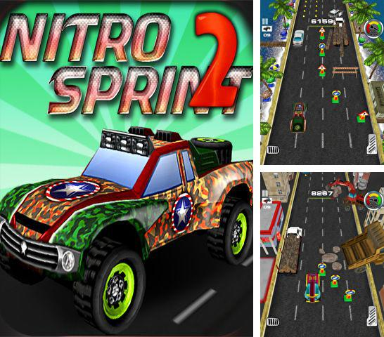 In addition to the game Tower defense generals for iPhone, iPad or iPod, you can also download Nitro Sprint 2: The second run for free.