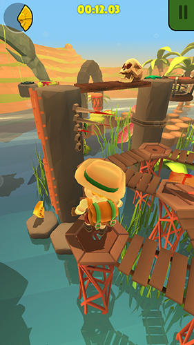 Screenshots do jogo Nono islands para iPhone, iPad ou iPod.