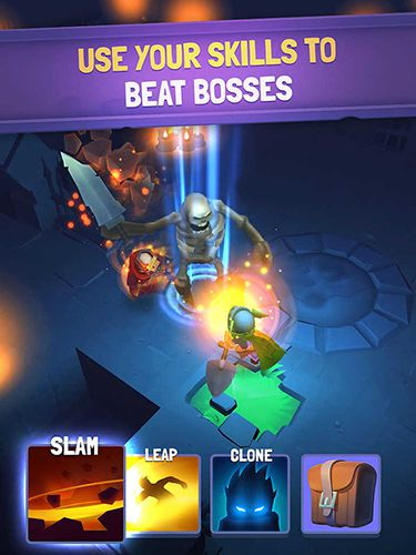 Capturas de pantalla del juego Nonstop knight para iPhone, iPad o iPod.