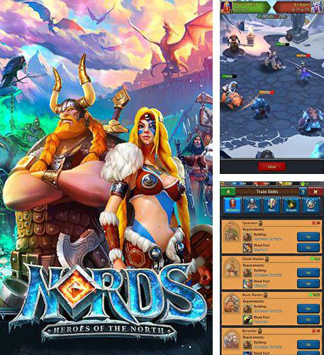 In addition to the game Vive le roi for iPhone, iPad or iPod, you can also download Nords: Heroes of the North for free.
