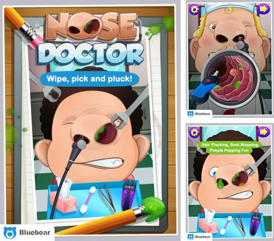 In addition to the game Sonic at the Olympic Winter Games for iPhone, iPad or iPod, you can also download Nose Doctor! for free.