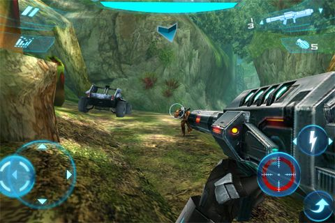 Download N.O.V.A. 2 - Near Orbit Vanguard Alliance iPhone free game.