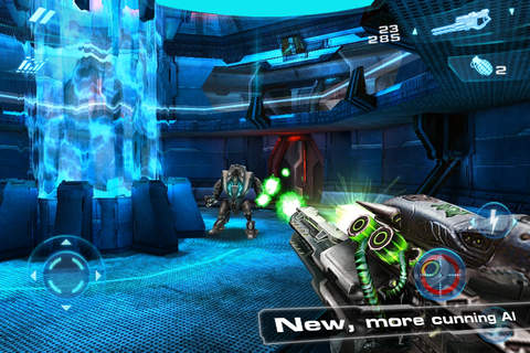 Screenshots of the N.O.V.A. 2 - Near Orbit Vanguard Alliance game for iPhone, iPad or iPod.