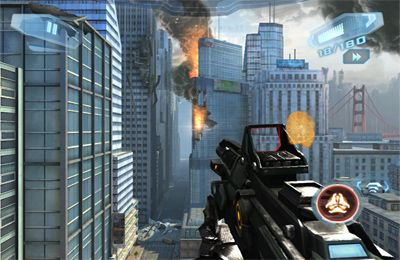 Screenshots vom Spiel N.O.V.A.  Near Orbit Vanguard Alliance 3 für iPhone, iPad oder iPod.