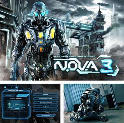 En plus du jeu La Suprématie dans l'air: La Guerre Froide pour iPhone, iPad ou iPod, vous pouvez aussi télécharger gratuitement L'Alliance 3 N.O.V.A. près de l'Orbite, N.O.V.A.  Near Orbit Vanguard Alliance 3.