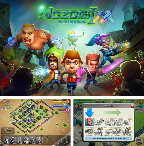 In addition to the game GOT evolution: Idle game of ice fire and thrones for iPhone, iPad or iPod, you can also download Nozomi: Disaster & hope for free.