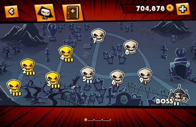 Screenshots of the Nun Attack game for iPhone, iPad or iPod.