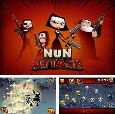 In addition to the game Area 51 Defense Pro for iPhone, iPad or iPod, you can also download Nun Attack for free.