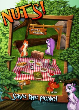Screenshots of the Nuts! game for iPhone, iPad or iPod.